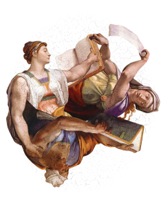Michelangelo's Lie 2 (Prophets and Sybils)